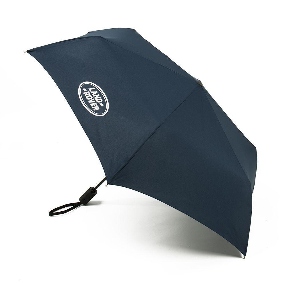 Зонт складной Land Rover Pocket Umbrella Navy 2017