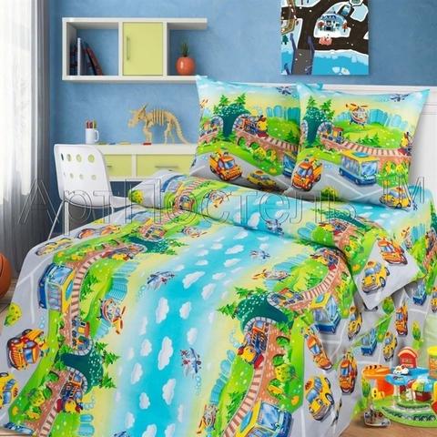 Комплект постельного белья Детский парк Бязь 150см