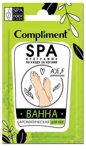 Compliment саше Ванна ароматическая для ног