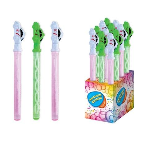 СЗН ЛЕТО Мармелад с игрушкой для пускания мыльных пузырей (мыл.раствор 110мл) Машинка 1кор*8бл*12шт, 3г.
