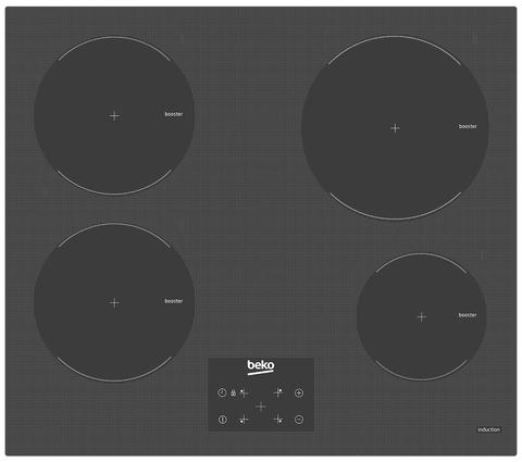 Встраиваемая индукционная панель Beko HII64400ATZG