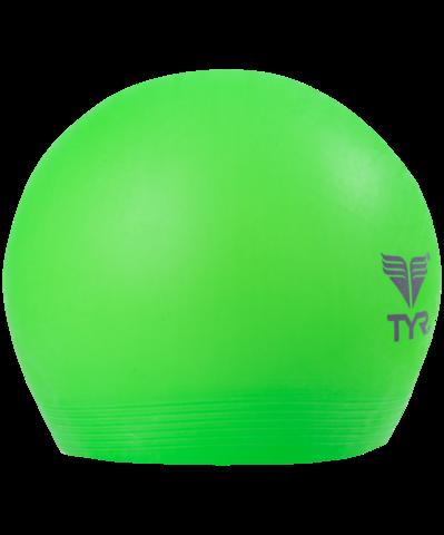 Шапочка для плавания Latex Swim Cap, латекс, LCL/322, зеленый