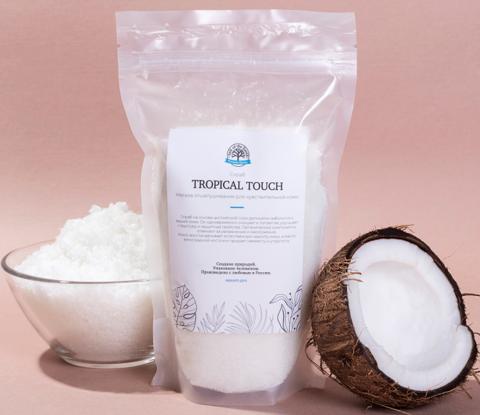 Salt of the Earth, Скраб для тела с кокосовым молоком Tropical Touch, 450гр
