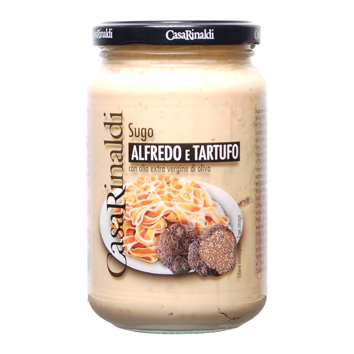Соус сливочный Альфредо трюфелями Casa Rinaldi 340г