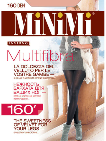 Женские колготки Multifibra 160 Minimi