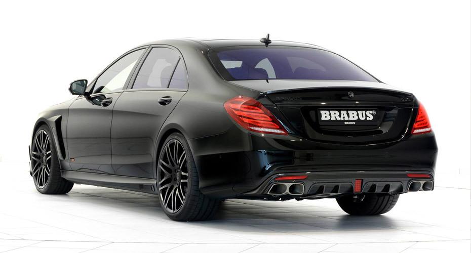 Обвес Brabus для Mercedes S63 W222