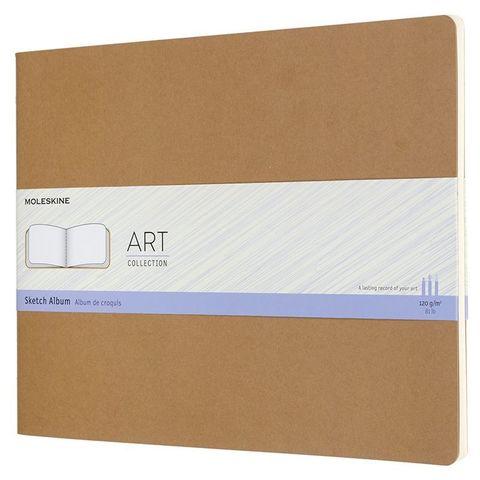 Блокнот для рисования Moleskine ART CAHIER SKRTCH ALBUM ARTSKA7P3 216x279мм обложка картон 88стр. бежевый