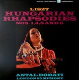 Liszt, Antal Dorati, London Symphony Orchestra / Hungarian Rhapsodies Nos.1, 4, 5 And 6 (LP)