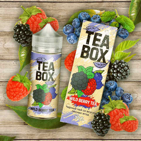 Жидкость Tea Box 120 мл Wild Berry Tea
