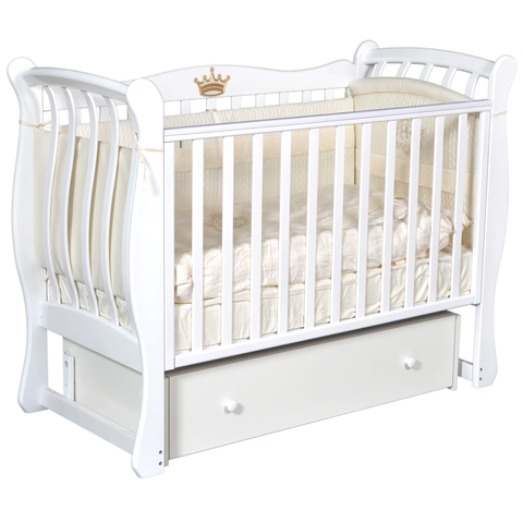 Кровать детская Виолетта V-3 (универсальный маятник, закрытый ящик)
