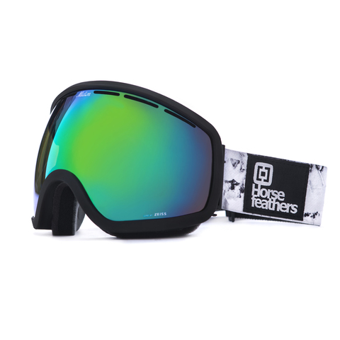 Маска Horsefeathers CHIEF GOGGLES (black birch/green chrome)