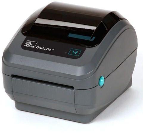 Принтер для чеков/наклеек термотрансферный Zebra Technologies GK 420d