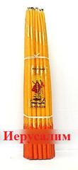 Свечи Иерусалимские желтые