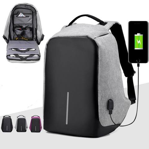 Антивор рюкзак  с USB-зарядкой