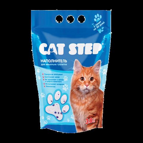 Cat Step Наполнитель для туалета кошек силикагелевый