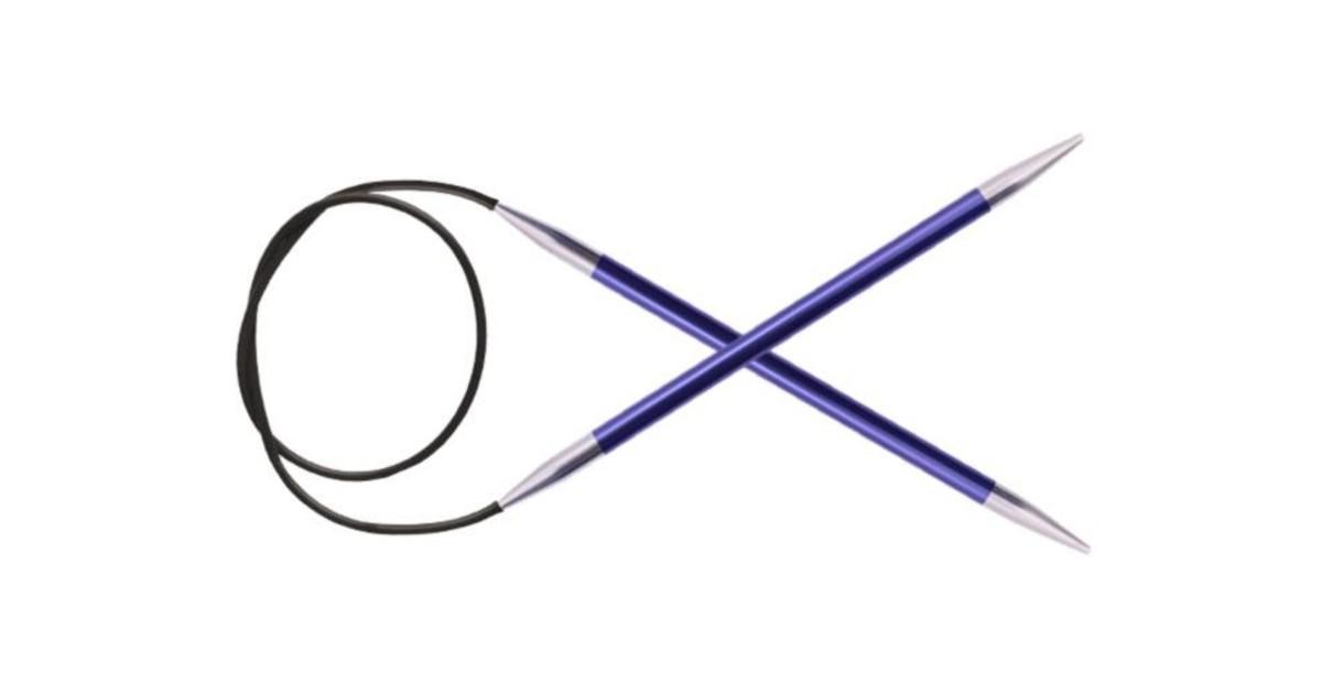 Спицы KnitPro Zing круговые 4.5 мм/80 см 47130