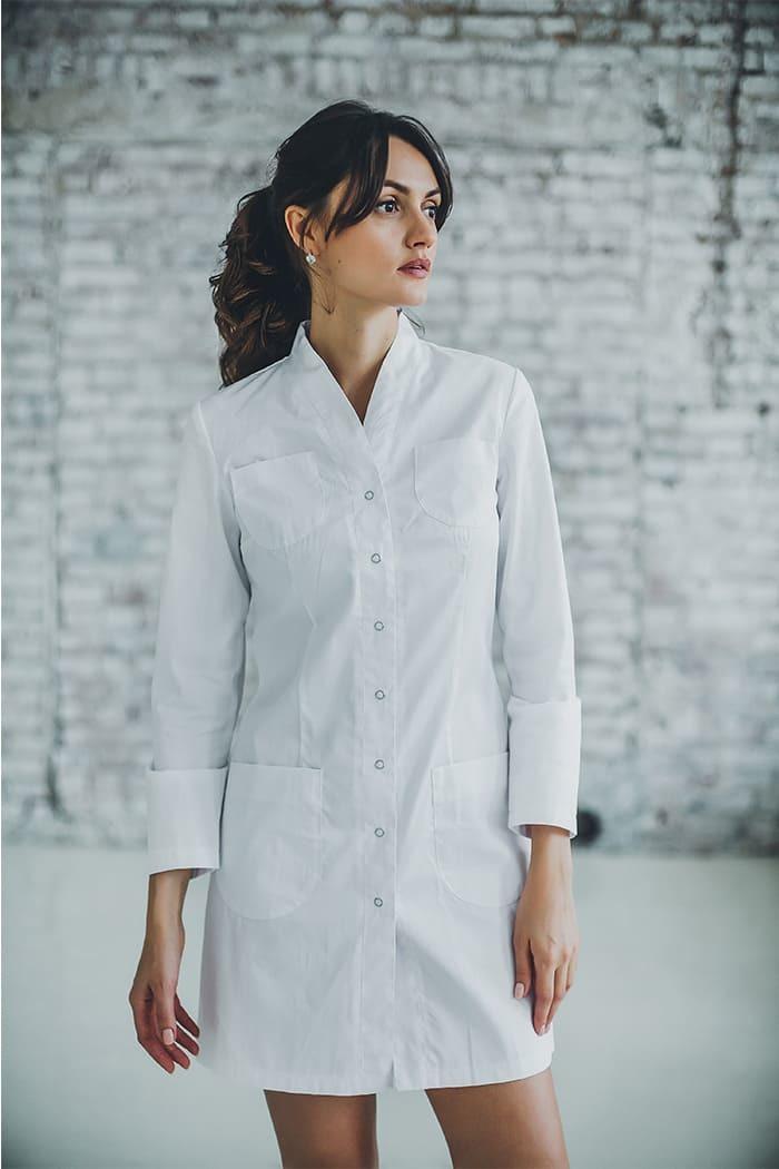 Халат женский медицинский М 130