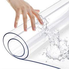 ПВХ пленка для подоконника Гибкое стекло, 140х30 см