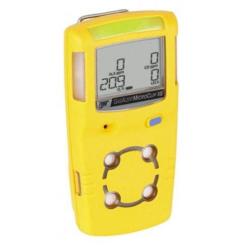 Газоанализатор портативный GasAlertMicroClip XL (КОНТРОЛЬ ОТ 1 ДО 4 ГАЗОВ: H2S, O2, CO, Ex-CH4)