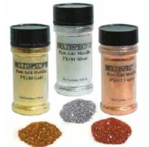 MULTISPEC post-add metallic универсальный глиттер для добавления в краски и лаки