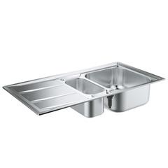 Мойка кухонная с двумя чашами Grohe K400 31567SD0 фото