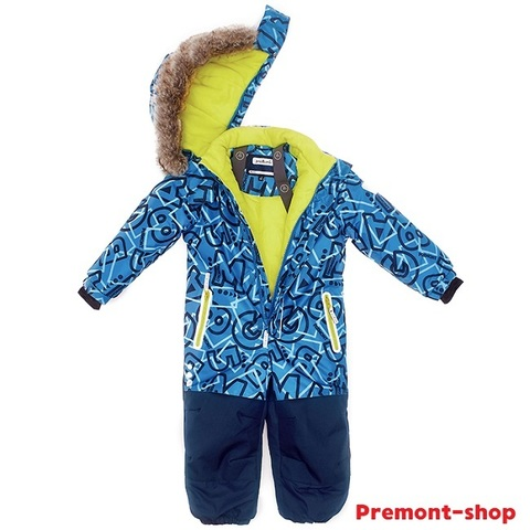 Комбинезон Premont для мальчика Хамбер Колледж WP92174 BLUE