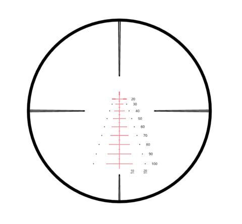 Прицел оптический Hawke Crossbow 2-8х36 IR WA (30mm Model)