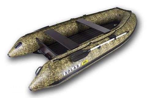 Надувная ПВХ-лодка Солар Максима - 380 (камыш)