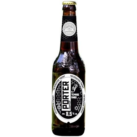 Пиво темное Портер ст. Алкомаркет 0,5л