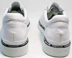 Белые туфли кроссовки женские летние Evromoda 215.314 All White.