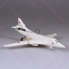 Елочная игрушка Самолет Белый лебедь
