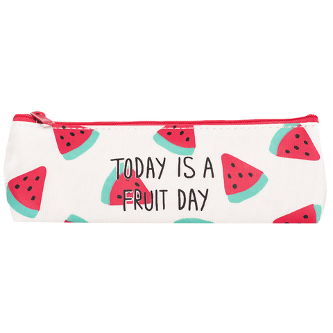 Пенал Today is a fruit day Piece of watermelon