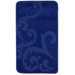 Коврик для ванны Zalel 55х90 см ворс, синий
