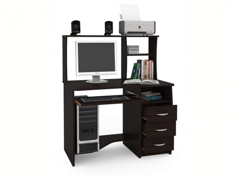 Компьютерный стол Комфорт 4 СКР Моби венге