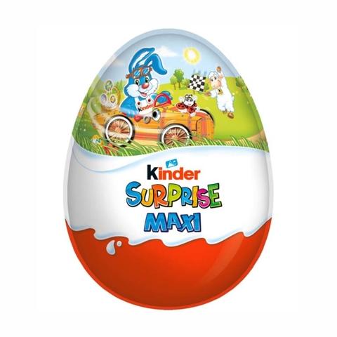 Яйцо шоколадное KINDER Сюрприз Maxi 100 гр ПОЛЬША