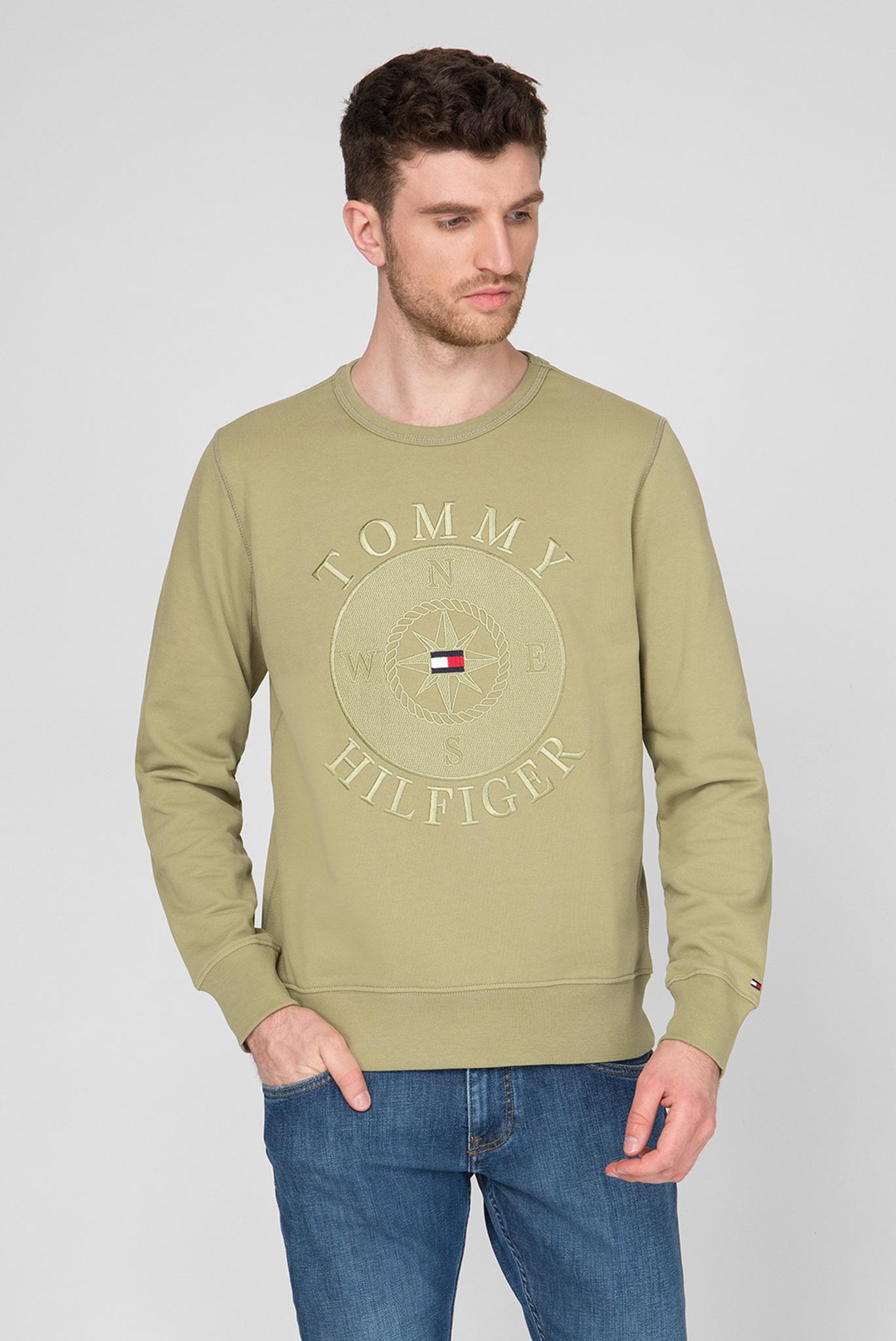 Мужской зеленый свитшот UTILITY Tommy Hilfiger