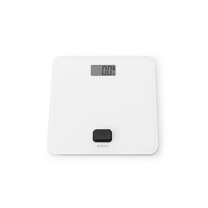 Цифровые весы для ванной комнаты, работа без батареек, Белый, арт. 281365 - фото 1