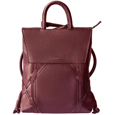 Сумка-рюкзак «New York». Цвет бордо