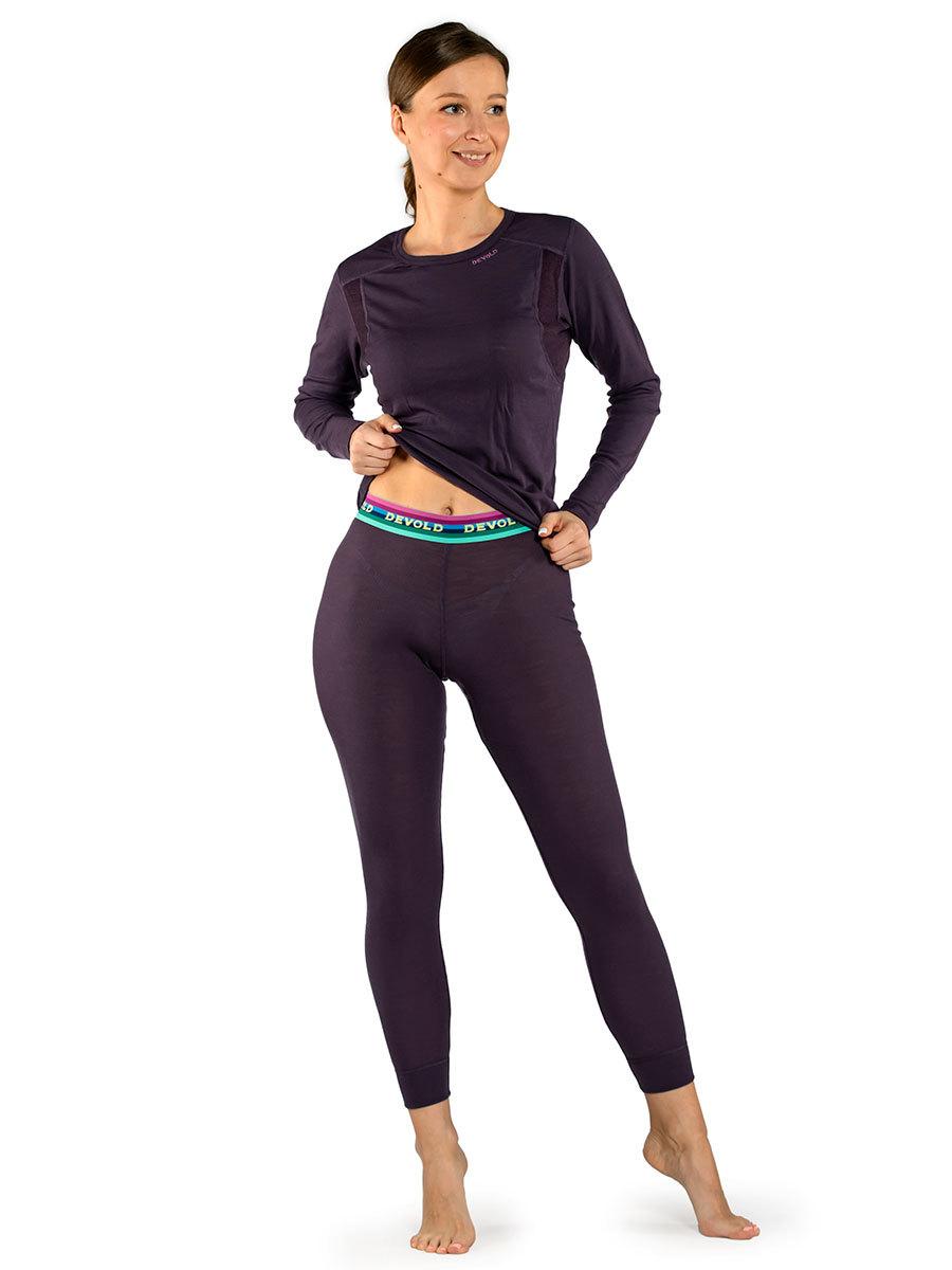 Devold термобелье брюки Hiking Woman Long Johns Figs