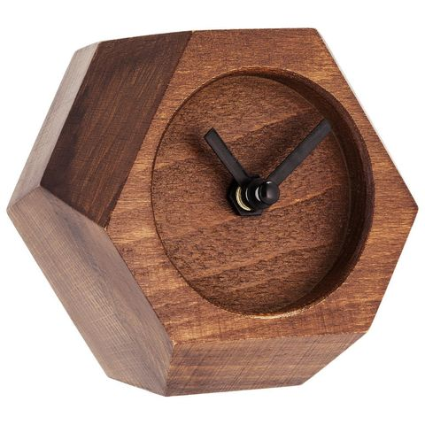 Table Clock Wood Job