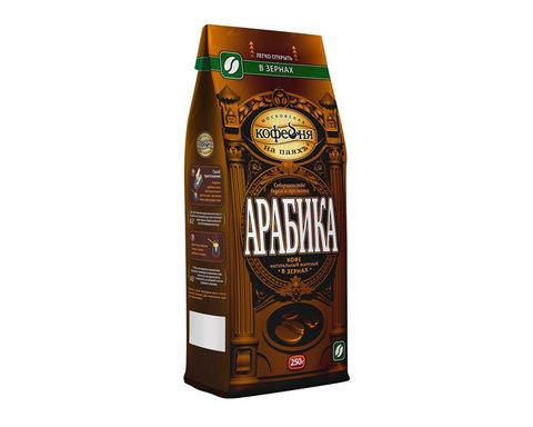 купить Кофе в зернах Московская Кофейня на Паяхъ Арабика, 250 г