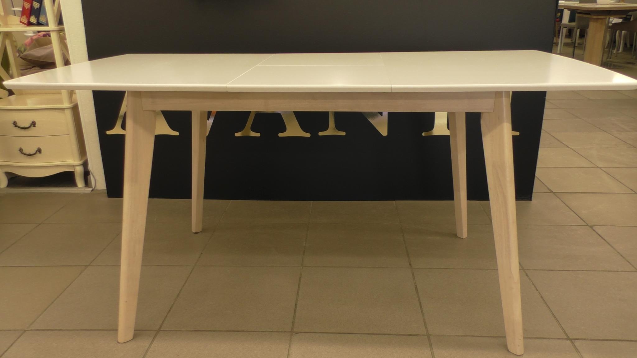 Стол обеденный AVANTI LARGO (120) white (Белый)