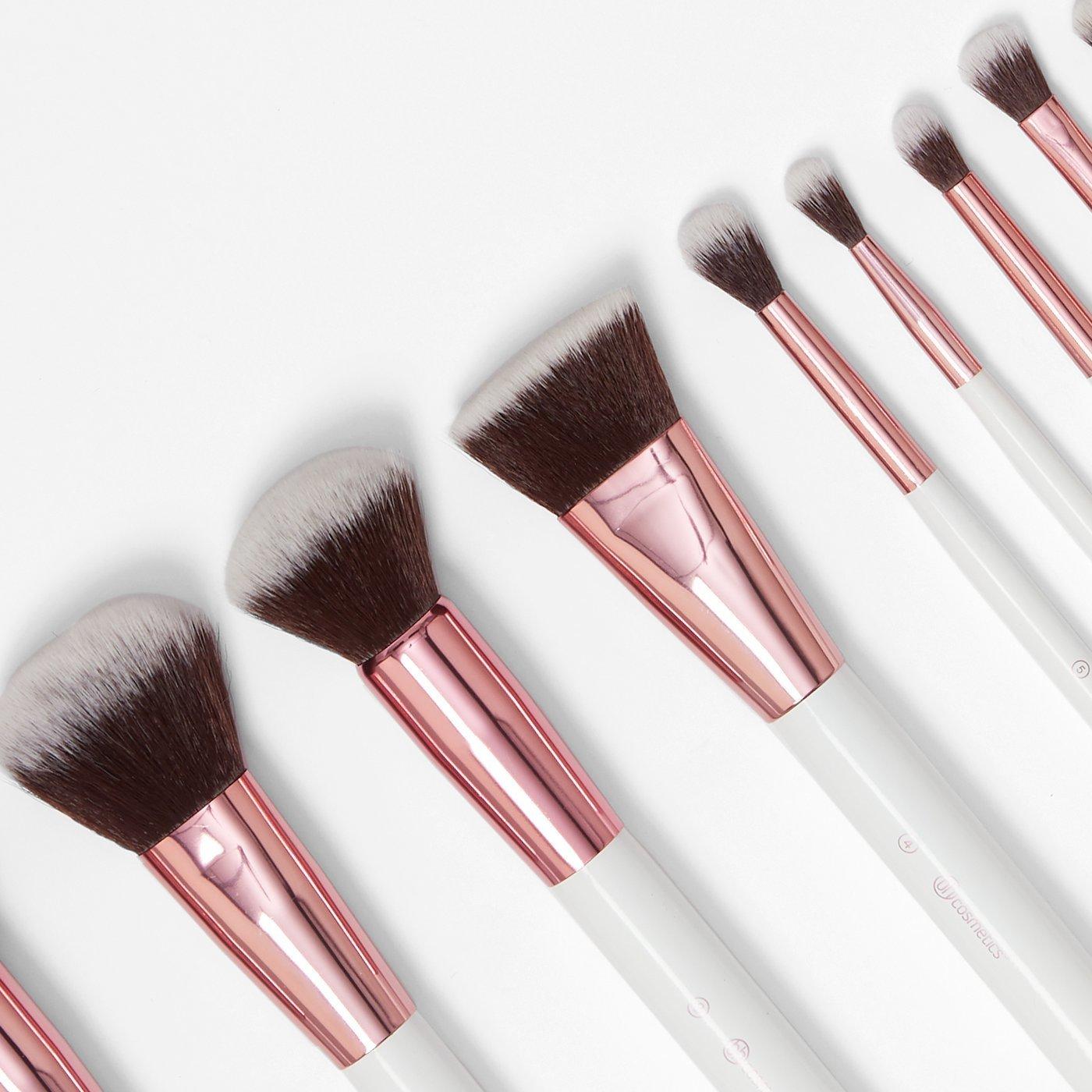 BH Cosmetics Crystal Quartz 12 piece brush set