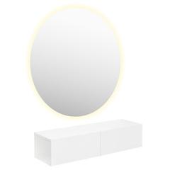 Парикмахерское зеркало СФЕРА с LED подсветкой