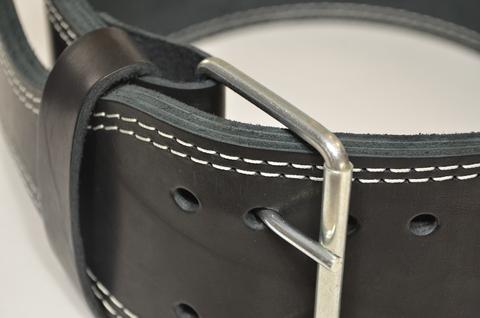 пояс для пауэрлифтинга двухслойный кожа пряжка