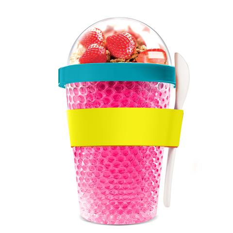 Контейнер Asobu Chill yo 2 go (0,38 литра), розовый*