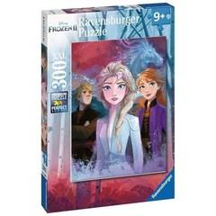 Puzzle DFZ:Elsa,Anna and Kristof 300 pcs