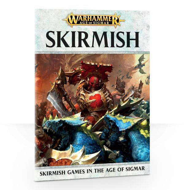 Age of Sigmar: Skirmish. Обложка