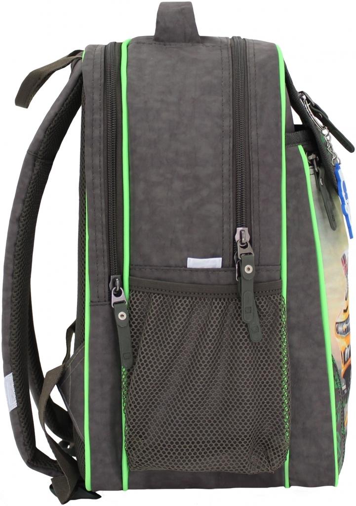 Рюкзак школьный Bagland Отличник 20 л. 327 хакі 4 м (0058070)