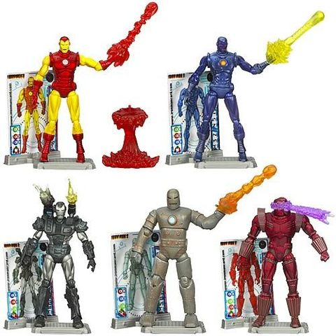 Iron Man 2 Comic - Wave 1 Revision 2